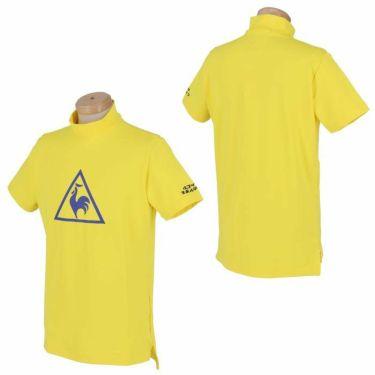 ルコック Le coq sportif メンズ ビッグロゴプリント 半袖 モックネックシャツ QGMPJA12 2020年モデル 詳細3