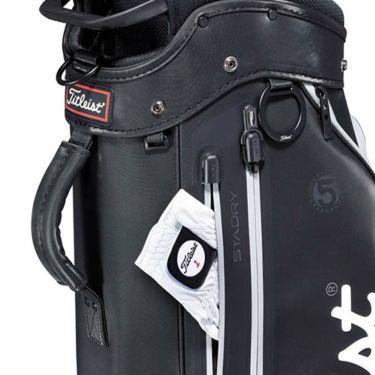 タイトリスト Titleist エリートパフォーマンス5 STADRY メンズ キャディバッグ CB132 BKGY ブラック×グレー 2021年モデル 詳細4