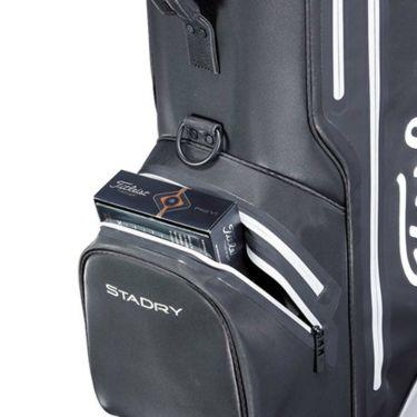 タイトリスト Titleist エリートパフォーマンス5 STADRY メンズ キャディバッグ CB132 BKGY ブラック×グレー 2021年モデル 詳細7