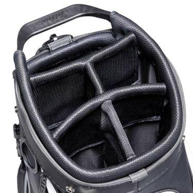 タイトリスト Titleist エリートパフォーマンス5 STADRY メンズ キャディバッグ CB132 BKGY ブラック×グレー 2021年モデル 詳細8