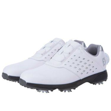 フットジョイ FootJoy eComfort BOA イーコンフォート ボア レディース ゴルフシューズ 98615 ホワイト/シルバー 2021年モデル