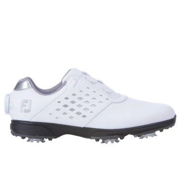 フットジョイ FootJoy eComfort BOA イーコンフォート ボア レディース ゴルフシューズ 98615 ホワイト/シルバー 2021年モデル 詳細3