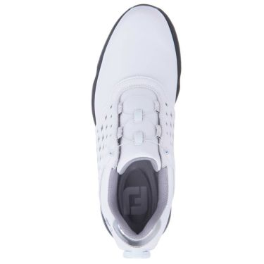 フットジョイ FootJoy eComfort BOA イーコンフォート ボア レディース ゴルフシューズ 98615 ホワイト/シルバー 2021年モデル 詳細4