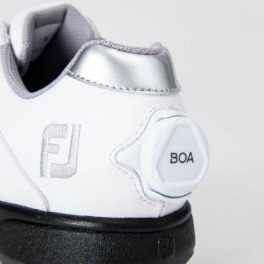 フットジョイ FootJoy eComfort BOA イーコンフォート ボア レディース ゴルフシューズ 98615 ホワイト/シルバー 2021年モデル 詳細6