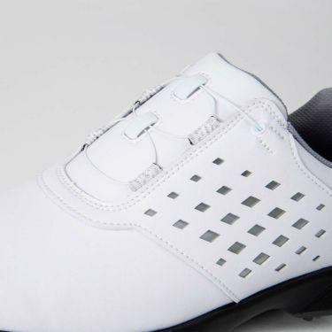 フットジョイ FootJoy eComfort BOA イーコンフォート ボア レディース ゴルフシューズ 98615 ホワイト/シルバー 2021年モデル 詳細7