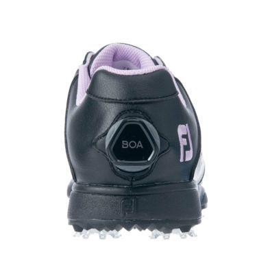 フットジョイ FootJoy eComfort BOA イーコンフォート ボア レディース ゴルフシューズ 98616 ブラック/パープル 2021年モデル 詳細5