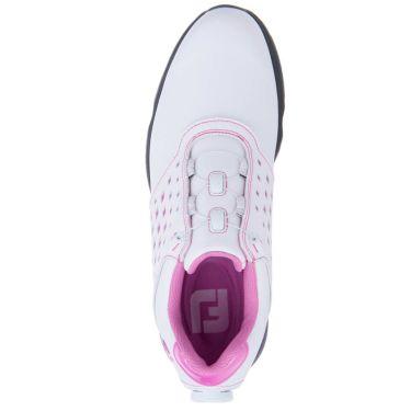 フットジョイ FootJoy eComfort BOA イーコンフォート ボア レディース ゴルフシューズ 98622 ホワイト/ピンク 2021年モデル 詳細4