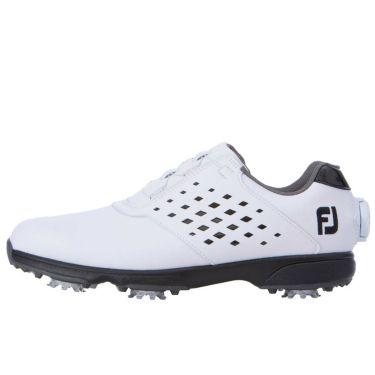 フットジョイ FootJoy eComfort BOA イーコンフォート ボア レディース ゴルフシューズ 98637 ホワイト/ブラック 2021年モデル 詳細1