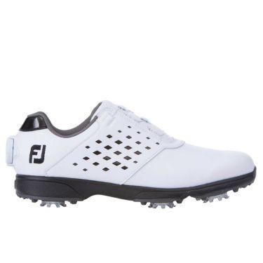 フットジョイ FootJoy eComfort BOA イーコンフォート ボア レディース ゴルフシューズ 98637 ホワイト/ブラック 2021年モデル 詳細3