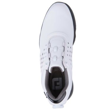 フットジョイ FootJoy eComfort BOA イーコンフォート ボア レディース ゴルフシューズ 98637 ホワイト/ブラック 2021年モデル 詳細4