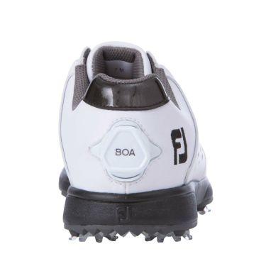 フットジョイ FootJoy eComfort BOA イーコンフォート ボア レディース ゴルフシューズ 98637 ホワイト/ブラック 2021年モデル 詳細5