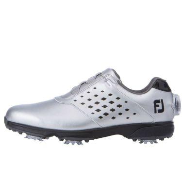 フットジョイ FootJoy eComfort BOA イーコンフォート ボア レディース ゴルフシューズ 98638 シルバー/ブラック 2021年モデル 詳細1