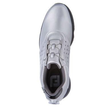 フットジョイ FootJoy eComfort BOA イーコンフォート ボア レディース ゴルフシューズ 98638 シルバー/ブラック 2021年モデル 詳細4