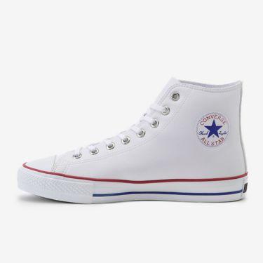コンバース CONVERSE ALL STAR GF HI オールスター スパイクレス ゴルフシューズ 3350006 ホワイト WHITE(33500060)