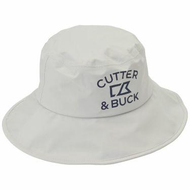カッター&バック CUTTER&BUCK メンズ ロゴプリント レインハット CGBNJC71 GY00 グレー 2020年モデル グレー(GY00)