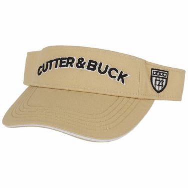 カッター&バック CUTTER&BUCK メンズ 立体ロゴ刺繍 サンバイザー CGBOJC61GJ BG00 ベージュ 2020年モデル ベージュ(BG00)