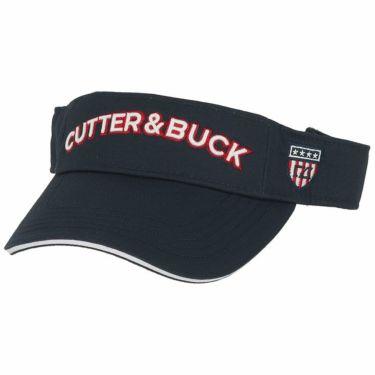 カッター&バック CUTTER&BUCK メンズ 立体ロゴ刺繍 サンバイザー CGBOJC61GJ NV00 ネイビー 2020年モデル ネイビー(NV00)