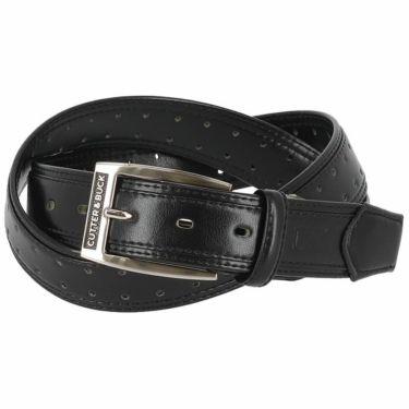 カッター&バック CUTTER&BUCK メンズ パンチング カーブベルト CGBPJH10 BK00 ブラック 2020年モデル ブラック(BK00)