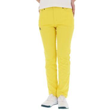【ss特価】△ルコック レディース ストレッチ ロングパンツ QGWPJD02 [2020年モデル] ゴルフウェア [春夏モデル 50%OFF] 特価 イエロー(YL00)