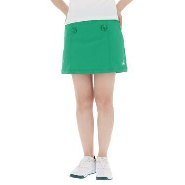 【ss特価】△ルコック レディース インナーパンツ一体型 ストレッチ プリーツ スカート QGWPJE00 [2020年モデル] ゴルフウェア [春夏モデル 50%OFF] 特価 グリーン(GR00)