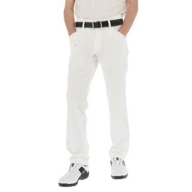 カッター&バック CUTTER&BUCK メンズ ロゴ刺繍 ストレッチ ロングパンツ CGMPJD30 2020年モデル [裾上げ対応1●] ホワイト(WH00)