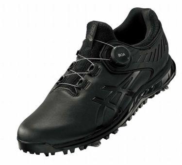 アシックス asics ゲルエース プロ 5 ボア メンズ ソフトスパイク ゴルフシューズ 1111A180 001 ブラック/ブラック 2021年モデル