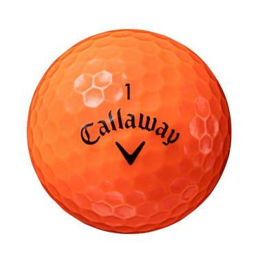 キャロウェイ SUPERSOFT スーパーソフト 2021年モデル ゴルフボール 1ダース(12球入り) オレンジ 詳細1