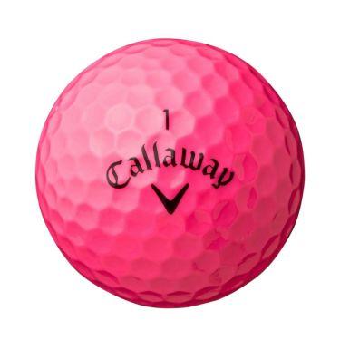 キャロウェイ SUPERSOFT MAX スーパーソフト マックス 2021年モデル ゴルフボール 1ダース(12球入り) ピンク 詳細1