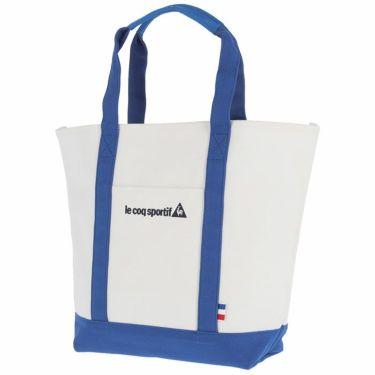 ルコック Le coq sportif ユニセックス ロゴ刺繍 インナーバッグ付き トートバッグ QQBMJA02 WH00 ホワイト ホワイト(WH00)