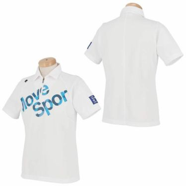 デサントゴルフ DESCENTE GOLF メンズ プリントデザイン ロゴ刺繍 半袖 ハーフジップシャツ DGMPJA42 2020年モデル 詳細3