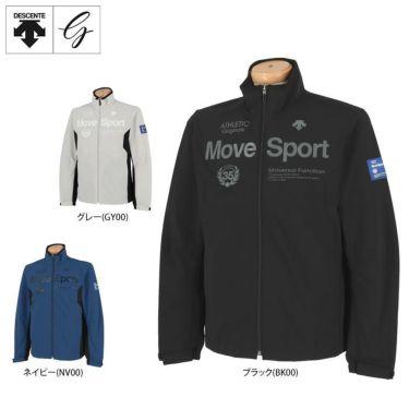 デサントゴルフ DESCENTE GOLF メンズ プリントデザイン 長袖 フルジップ ウインド ジャケット DGMPJK03 2020年モデル 詳細1