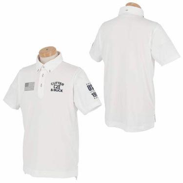 【ss特価】△カッター&バック メンズ ロゴ刺繍 フラッグ 半袖 ボタンダウン ポロシャツ CGMPJA21 [2020年モデル] ゴルフウェア [春夏モデル 50%OFF] 特価 詳細3