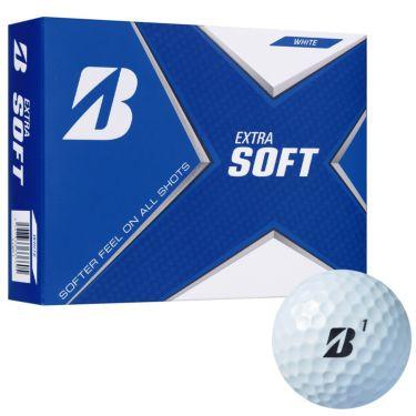 ブリヂストン エクストラソフト 2021年モデル ゴルフボール 1ダース(12球入り) ホワイト ホワイト