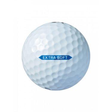 ブリヂストン エクストラソフト 2021年モデル ゴルフボール 1ダース(12球入り) ホワイト 詳細2