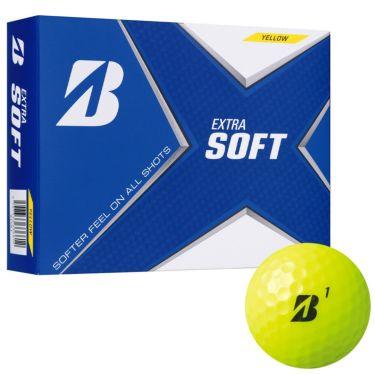 ブリヂストン エクストラソフト 2021年モデル ゴルフボール 1ダース(12球入り) イエロー