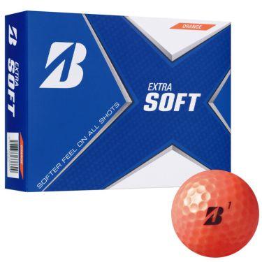 オウンネーム専用 ブリヂストン エクストラソフト 2021年モデル ゴルフボール 3ダース(36球) オレンジ