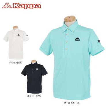 【ss特価】△カッパ メンズ チェック柄 半袖 ボタンダウン ポロシャツ KGA12SS17 [2020年モデル] ゴルフウェア [春夏モデル 50%OFF] 特価 詳細1