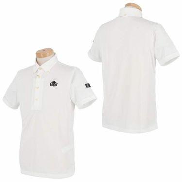 【ss特価】△カッパ メンズ チェック柄 半袖 ボタンダウン ポロシャツ KGA12SS17 [2020年モデル] ゴルフウェア [春夏モデル 50%OFF] 特価 詳細3