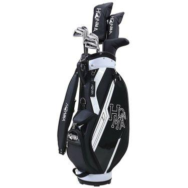 本間ゴルフ D1 メンズ ゴルフクラブセット (10本セット+キャディバッグ) ブラック 2021年モデル 詳細1