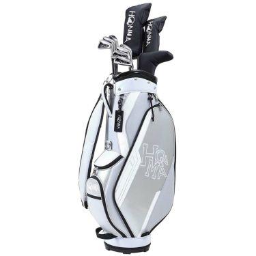 本間ゴルフ D1 メンズ ゴルフクラブセット (10本セット+キャディバッグ) グレー 2021年モデル 詳細1