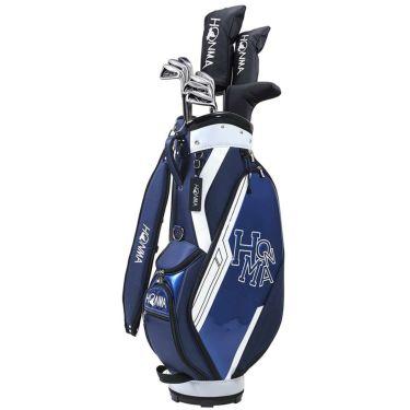 本間ゴルフ D1 メンズ ゴルフクラブセット (10本セット+キャディバッグ) ネイビー 2021年モデル 詳細1