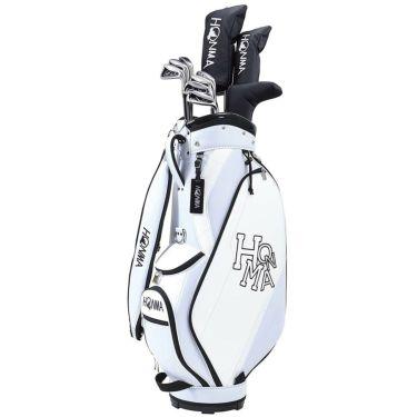 本間ゴルフ D1 メンズ ゴルフクラブセット (10本セット+キャディバッグ) ホワイト 2021年モデル 詳細1