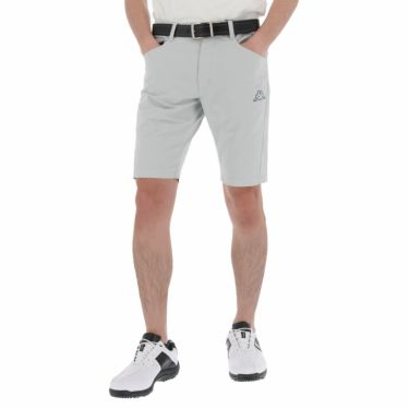 【ss特価】△カッパ メンズ ロゴプリント ショートパンツ KG912SP24 ゴルフウェア [春夏モデル 50%OFF] 特価 シルバー(SI)