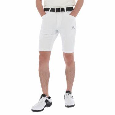 【ss特価】△カッパ メンズ ロゴプリント ショートパンツ KG912SP24 ゴルフウェア [春夏モデル 50%OFF] 特価 ホワイト(WT)