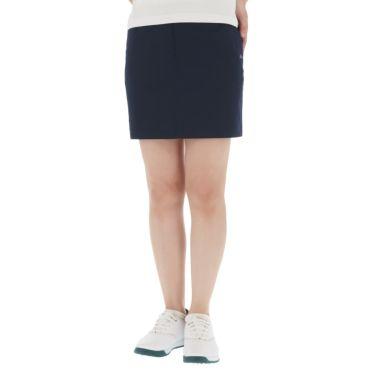 【ss特価】△カッパ レディース 撥水 ストレッチ スカート KC922SK63 ゴルフウェア [春夏モデル 50%OFF] 特価 ネイビー(NV)