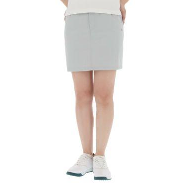 【ss特価】△カッパ レディース 撥水 ストレッチ スカート KC922SK63 ゴルフウェア [春夏モデル 50%OFF] 特価 シルバー(SI)