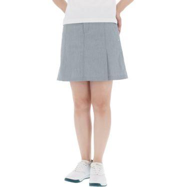 【ss特価】△カッパ レディース ドビーストレッチ プリーツ スカート KC922SK64 ゴルフウェア [春夏モデル 50%OFF] 特価 サックス(SX)