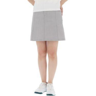 【ss特価】△カッパ レディース ドビーストレッチ プリーツ スカート KC922SK64 ゴルフウェア [春夏モデル 50%OFF] 特価 シルバー(SI)