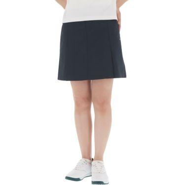 【ss特価】△カッパ レディース ドビーストレッチ プリーツ スカート KC922SK64 ゴルフウェア [春夏モデル 50%OFF] 特価 ネイビー(NV)