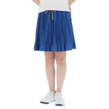 【ss特価】△カッパ レディース アコーディオンプリーツ スカート KC922SK72 ゴルフウェア [春夏モデル 50%OFF] 特価 ブルー(BL)